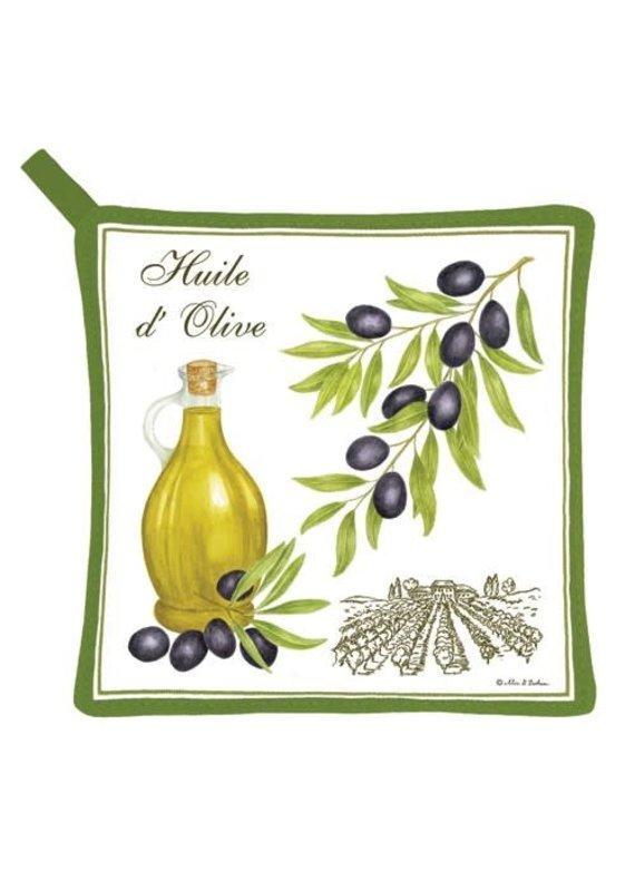 Alice Cottage Potholder Olive Oil