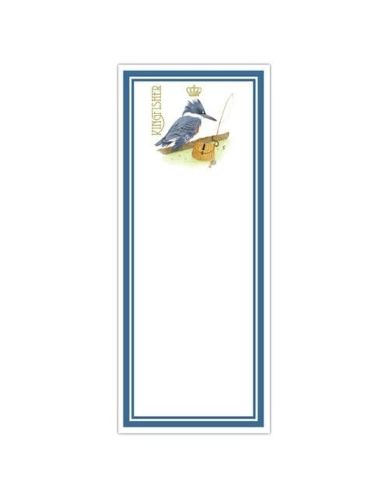 Alice Cottage Note Pad Kingfisher