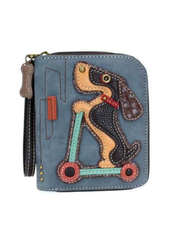 Chala Chala Zip-Around Wallet Wiener