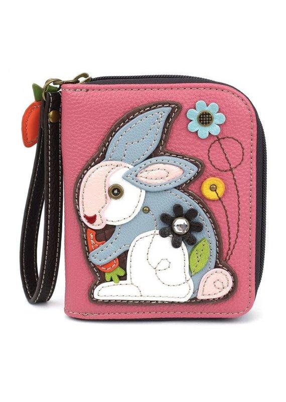 Chala Chala Zip-Around Wallet Rabbit