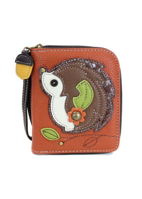Chala Chala Zip-Around Wallet Hedgehog