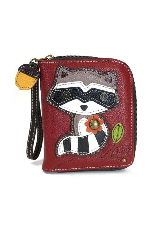 Chala Chala Zip-Around Wallet Raccoon