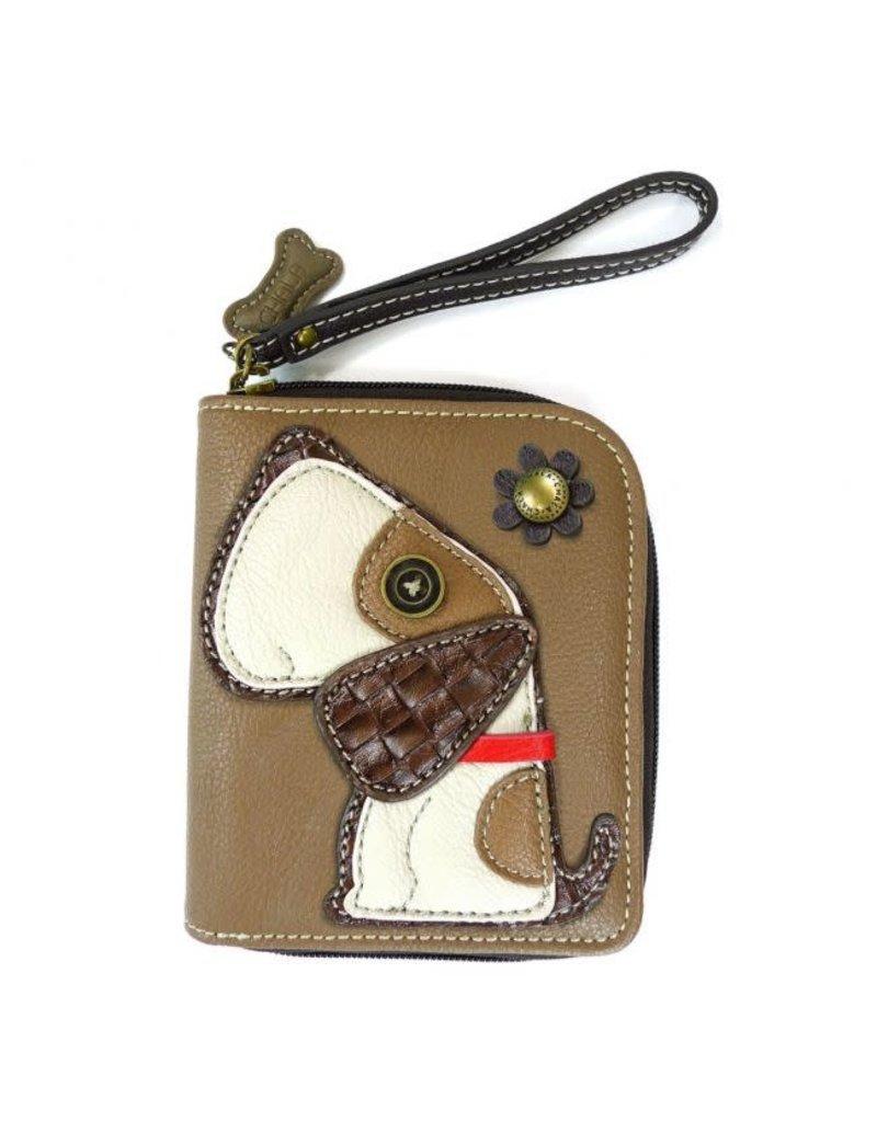 Chala Chala Zip-Around Wallet Dog Toffy