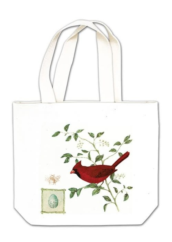 Alice Cottage Gift Tote Cardinal