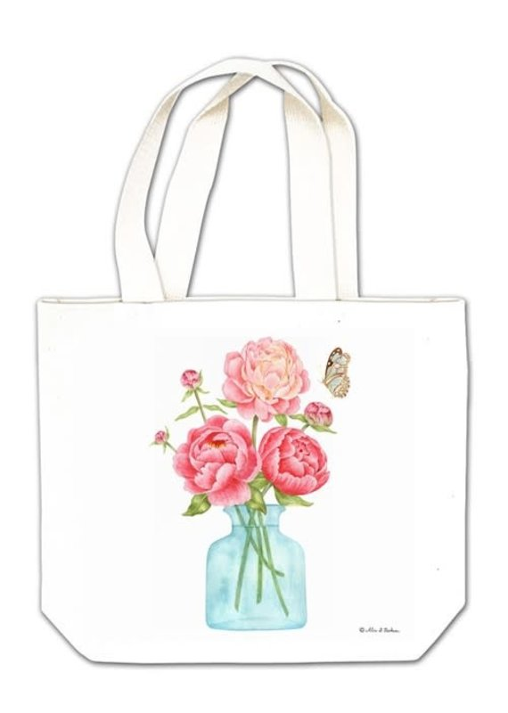 Alice Cottage Gift Tote Flowers