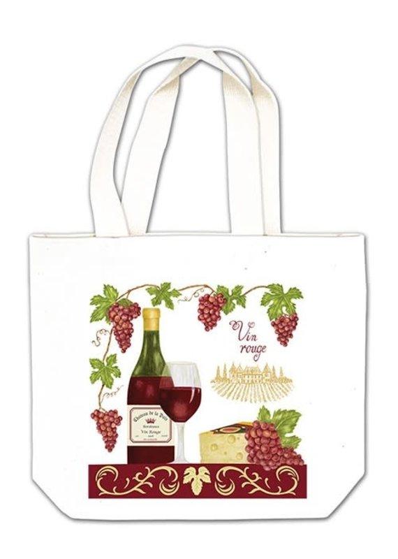 Alice Cottage Gift Tote Wine