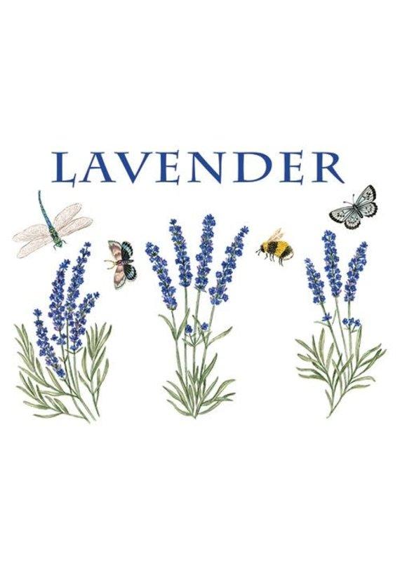 Alice Cottage Single Flour Sack Towel Lavender