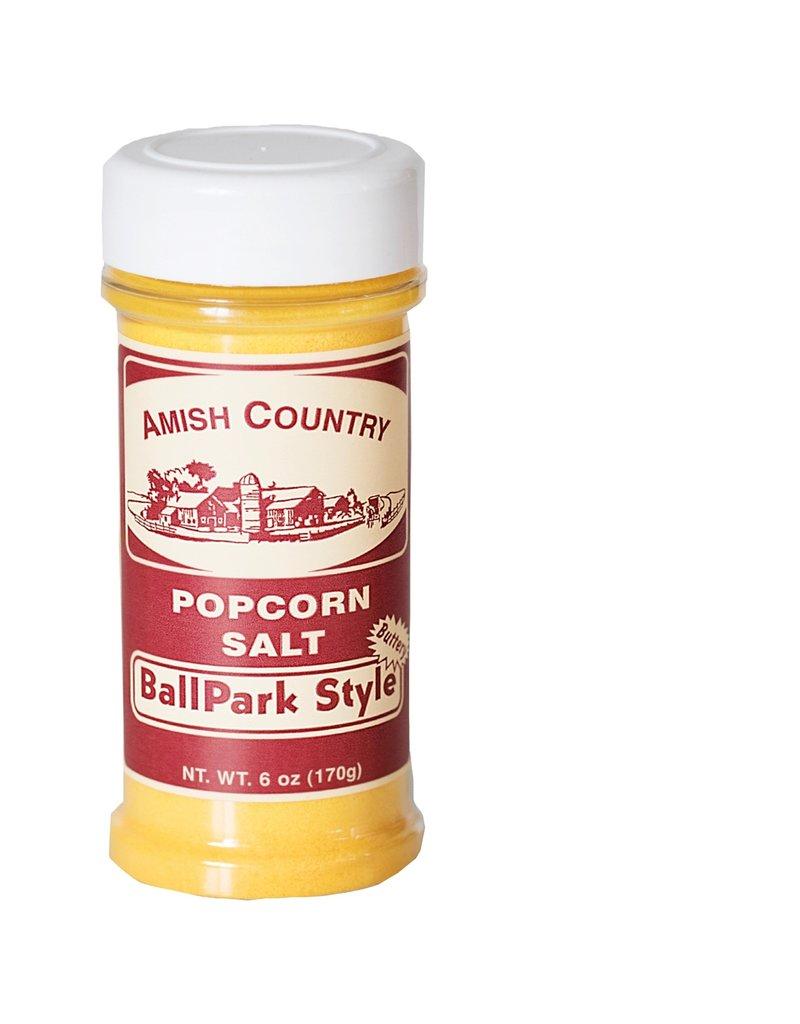 Amish Country Ballpark-Style Popcorn Salt 6 oz.