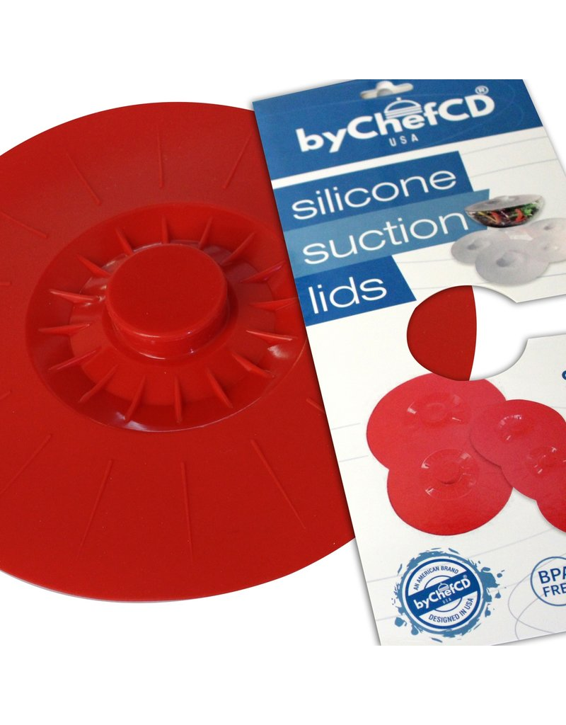 ByChefCd Silicone Suction Lid