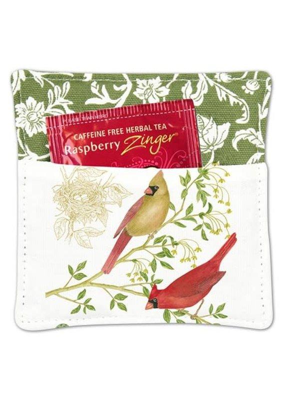Alice Cottage Tea Mug Mat Cardinals