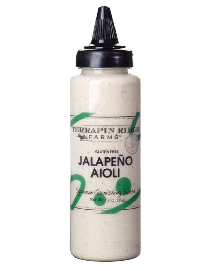 Terrapin Ridge Farms Jalapeno Aioli Garnishing Squeeze