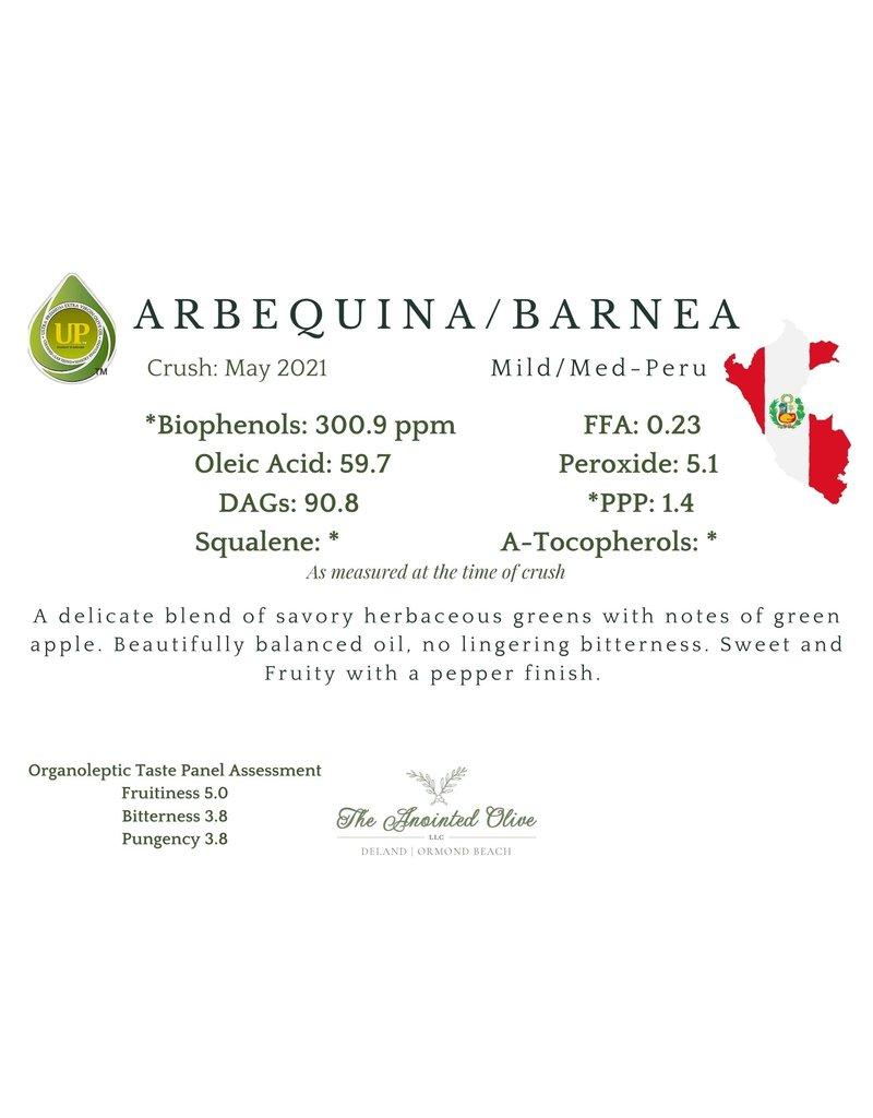 Southern Arbequina/Barnea (Peru)