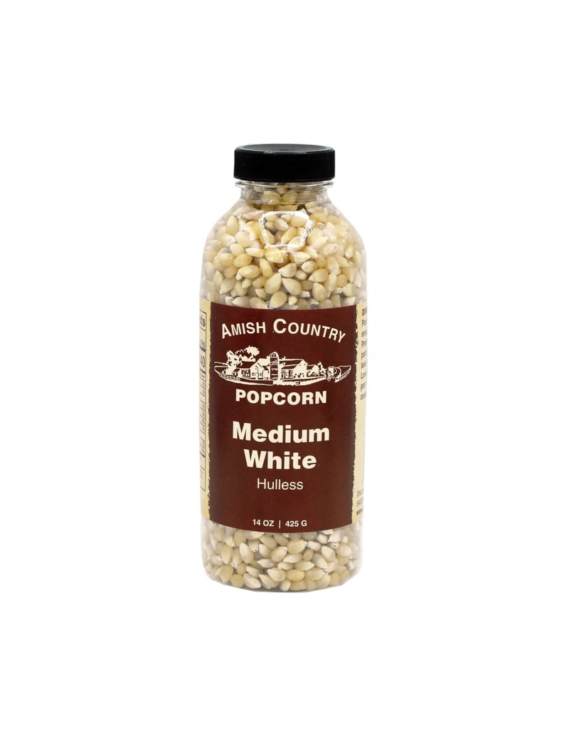 Amish Country Medium White 14oz Popcorn