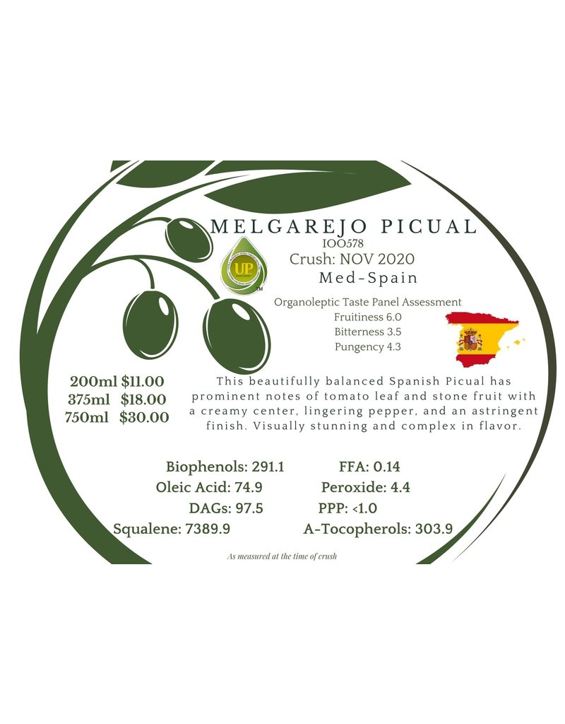 Northern Melgarejo Picual Spain