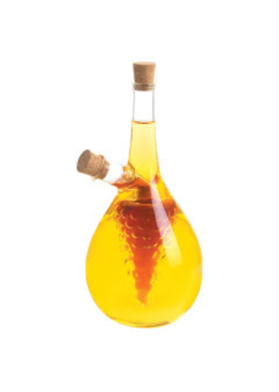 Cruets Cluster Glass Oil & Vinegar