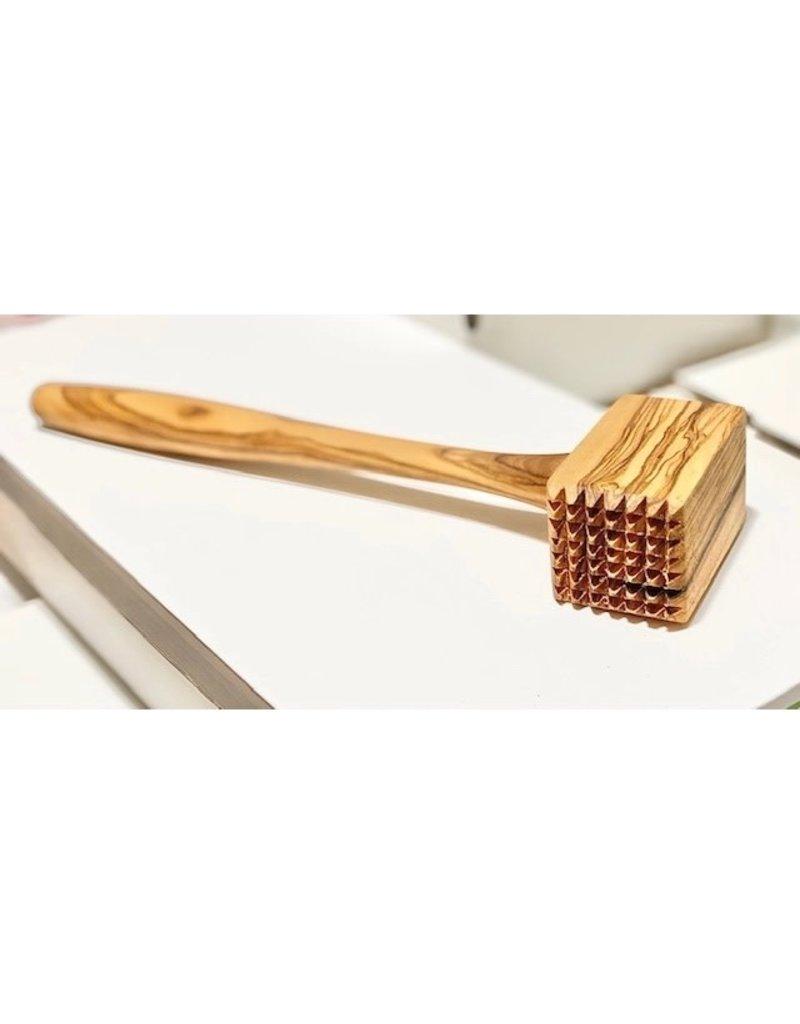 Natural Olive Wood Olive Wood Meat Hammer