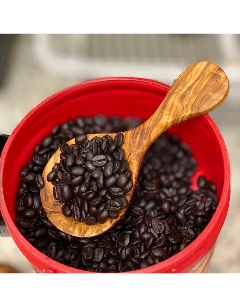 Natural Olive Wood Olive Wood Coffee Scoop