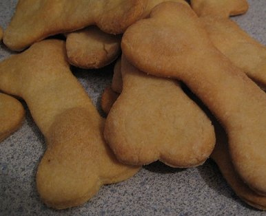 Homemade All Natural, High Oleic, High Polyphenol Olive Oil Dog Biscuits
