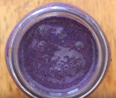 Chia, Blueberry & High Phenol UP Hojibla Olive Oil Smoothie
