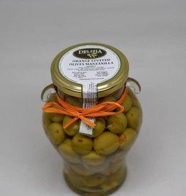 Manzanilla Olives Stuffed with Seville Orange