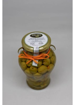 Manzanilla Olives Stuffed with Seville Orange