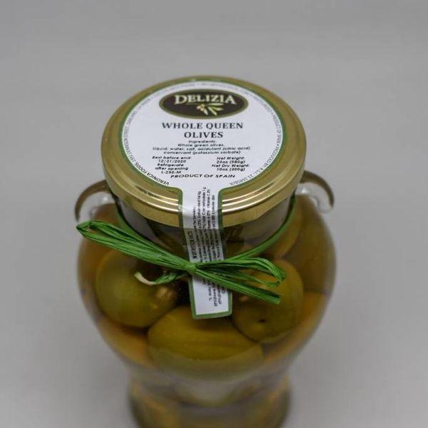 Delizia Whole Queen Gordal Olives