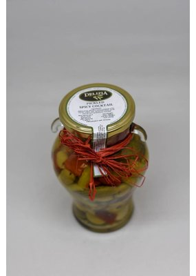 Pickled Cocktail: Olives, Gherkins, Peppers, Chilis & Onions (Mix)