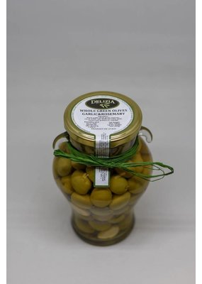 Whole Manzanilla Olive with Rosemary & Garlic
