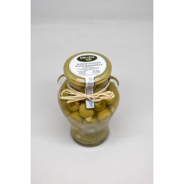 Delizia Manzanilla Olive Stuffed with Almond