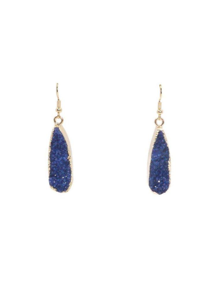 40df3ec0d Kinsley Armelle Druzy Collection – Denim Drop Earrings - Jewellers ...