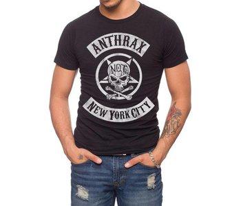 Anthrax - NYC Biker Patch GL0044-T1031C