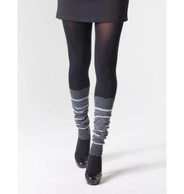 "MONDOR Mondor Striped Merino Wool Legwarmers 16"" 5271"