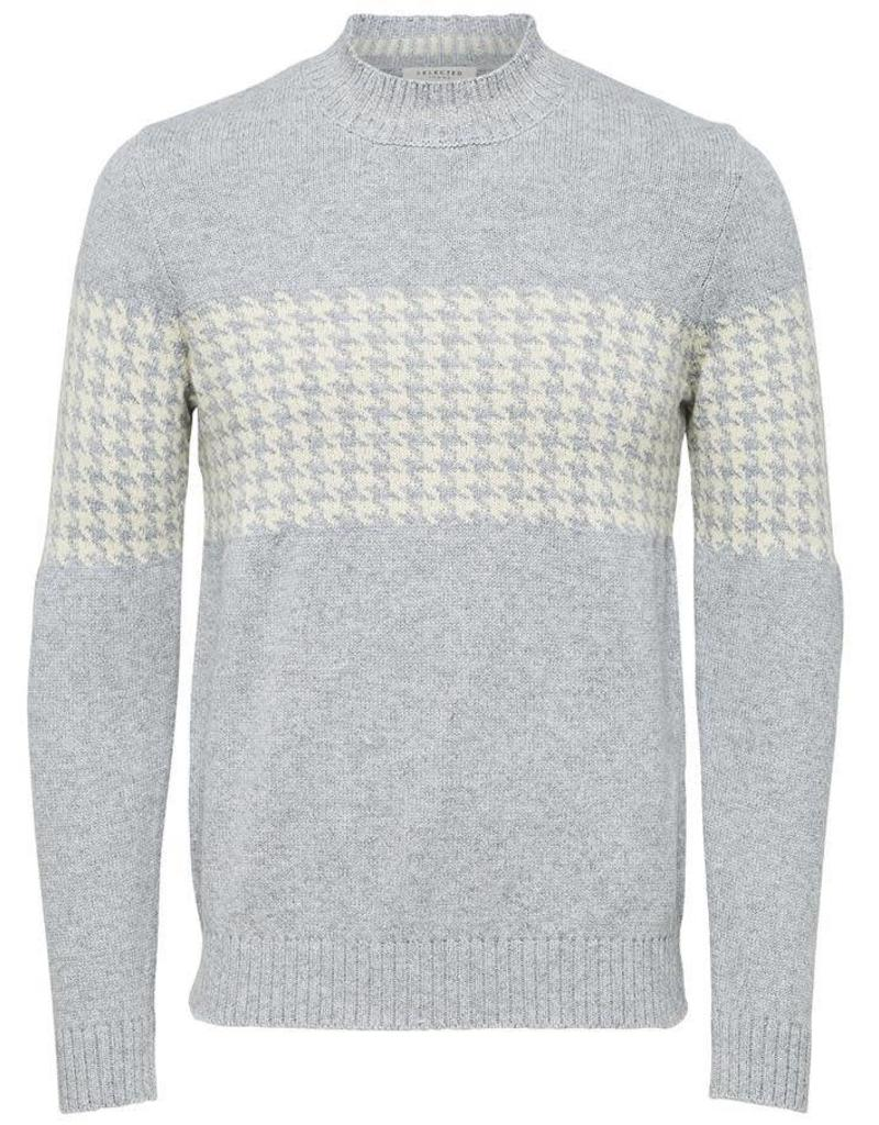 SELECTED Selected Hommes Jacquard High Neck Chandail 16063692