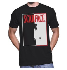 JOAT Scarface Black-White-Red Poster CF1002-T1031C