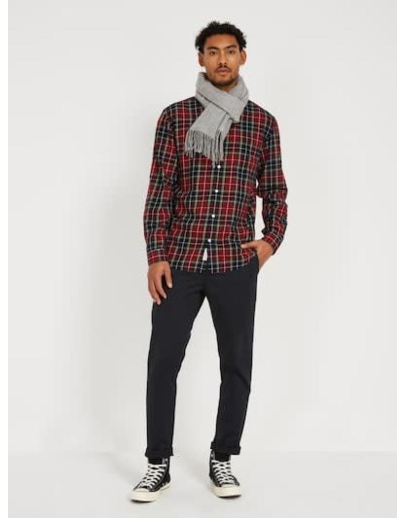 Frank And Oak Frank And Oak Flannel Tartan Shirt 1110298