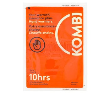 Kombi Hand Warmers 2 Pack 4428