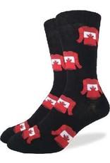 GOOD LUCK Good Luck Sock 1225 Canada Jerseys Noir 7-12