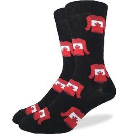 GOOD LUCK Good Luck Sock 1225 Canada Jerseys Black 7-12