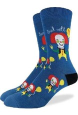 GOOD LUCK Good Luck sock 1329 Clown Bleu 7-12