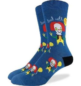 GOOD LUCK Good Luck sock 1329 Clown Blue 7-12