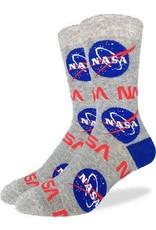 GOOD LUCK Good Luck sock 1401 Nasa Grey 7-12