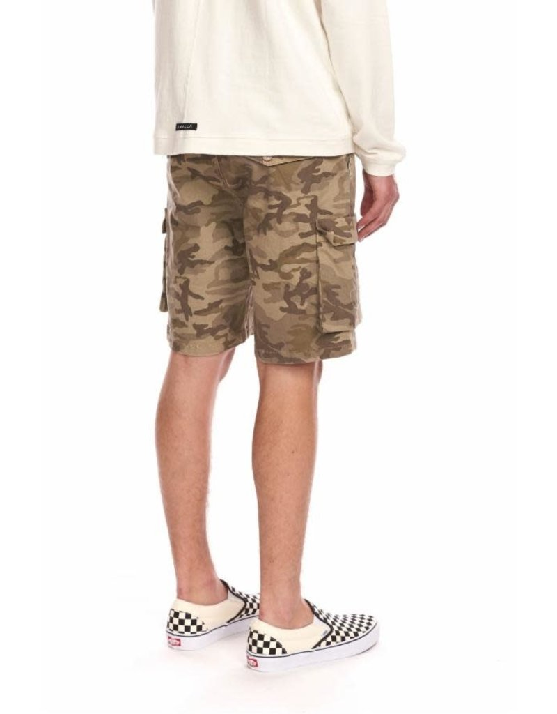 KUWALLA Kuwalla Hommes Cargo Camo Shorts KUL-CS2098