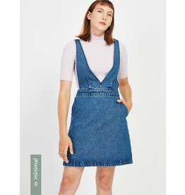 Frank And Oak Frank And Oak Denim Pinafore 2510150