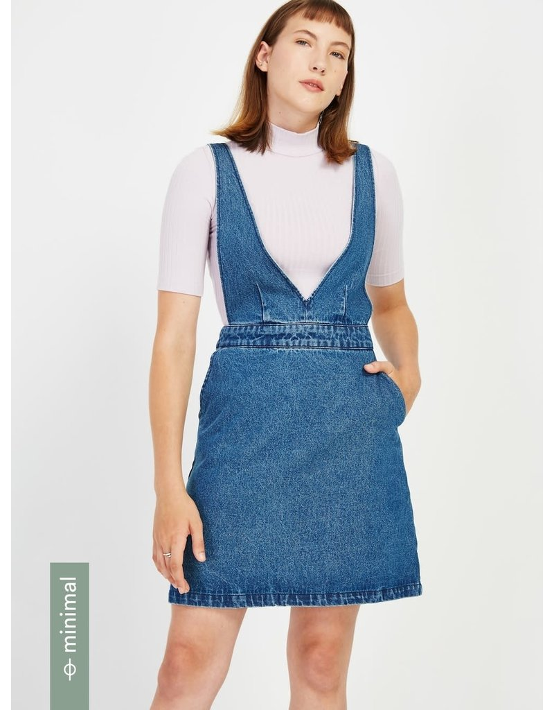 Frank And Oak Frank And Oak Women's Denim Pinafore 2510150