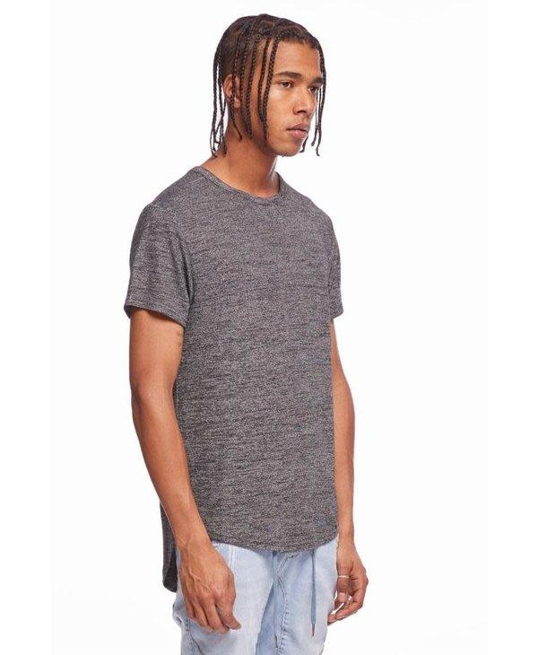 Kuwalla Men's Marled Hi-Lo T-Shirt KUL-HL7404