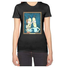 JOAT Rick And Morty Women's Poopy Family Portrait RM0053-T2000