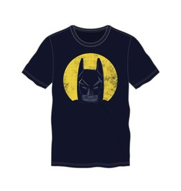 Batman Face In Yellow Circle BCTS4UXMLGM