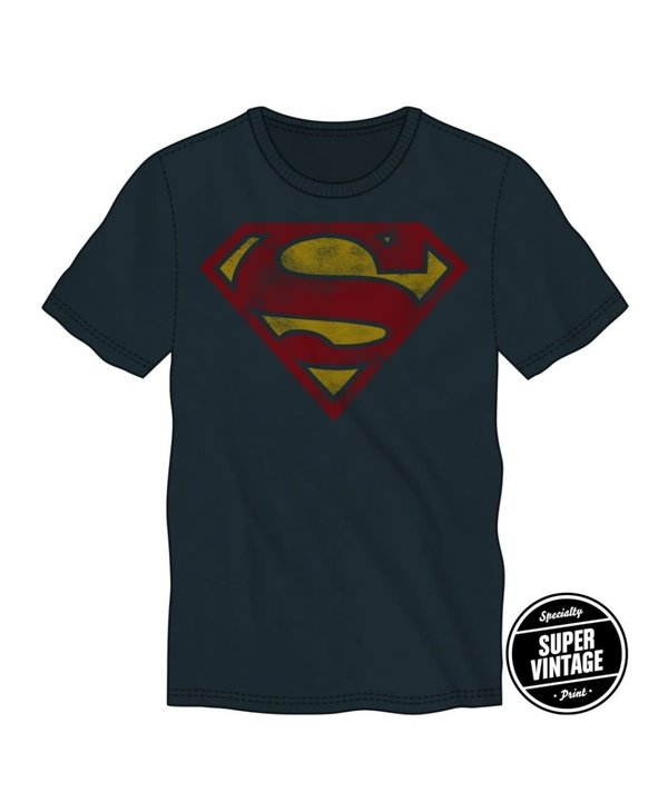 Superman Vintage Print Icon BCTS6G1DSPM