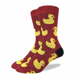 GOOD LUCK Good Luck Sock 1315 Ruber Ducks Rouge 7-12