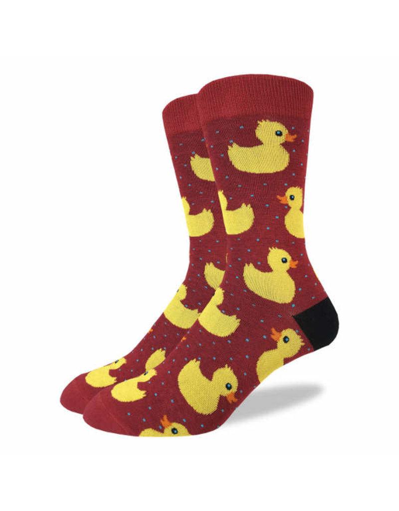 GOOD LUCK Good Luck Sock 1315 Ruber Ducks Rouge 7-12